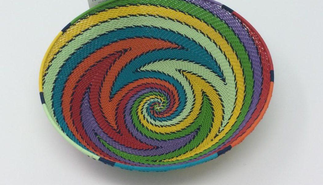 Telephone Wire Basket – Rainbow Brights
