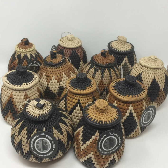 Zulu Herb Baskets – Large