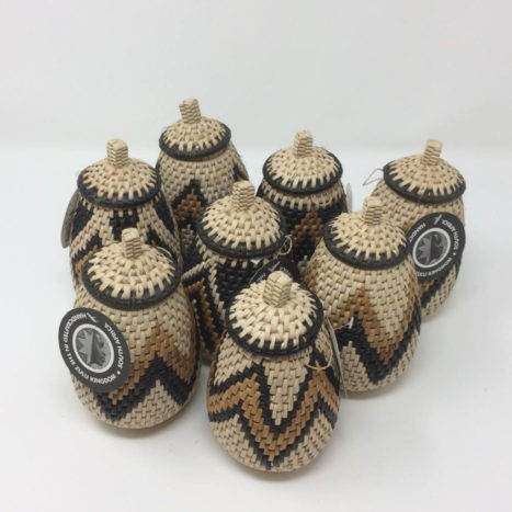 Zulu Herb Baskets