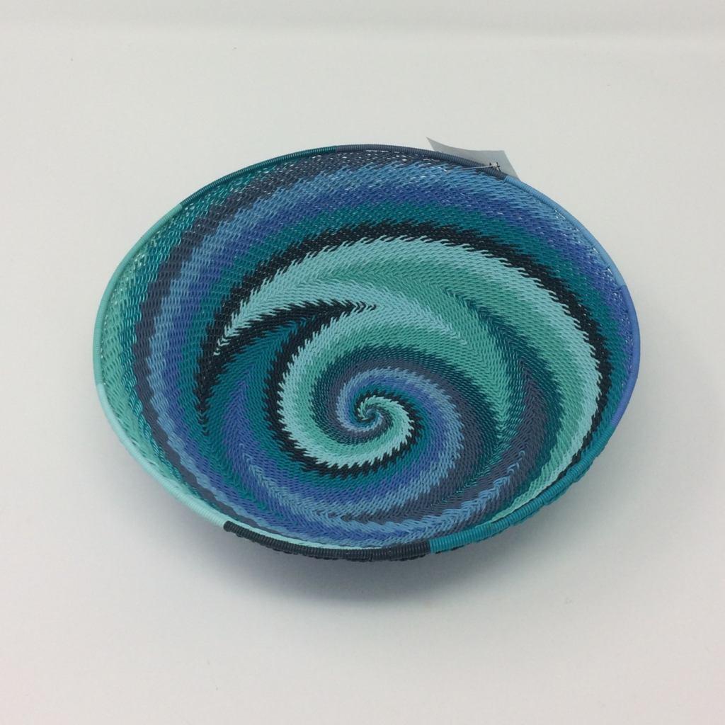 Telephone Wire Basket - Ocean Waves - Injabulo