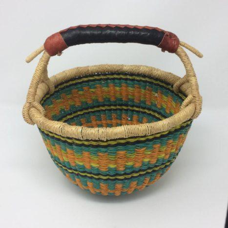 "Small Bolga Basket 10"" (10-1)"