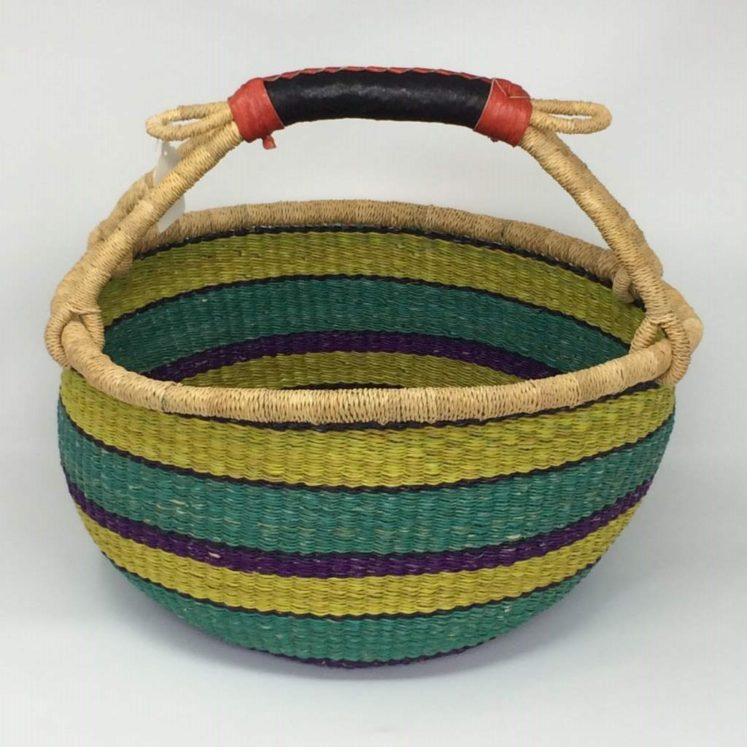"""Large Bolga Basket 14"""" (14-5)"""