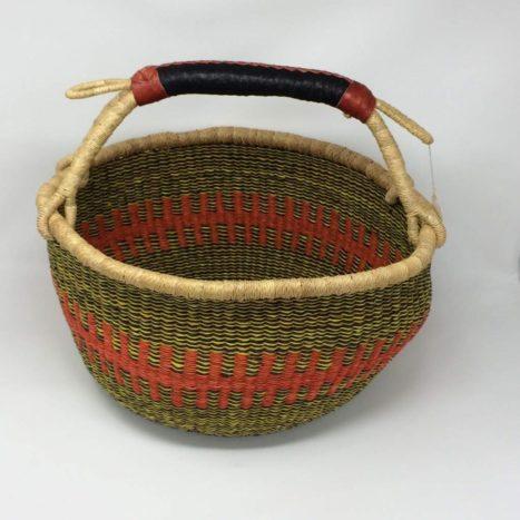 """Large Bolga Basket 15"""" (15-2)"""
