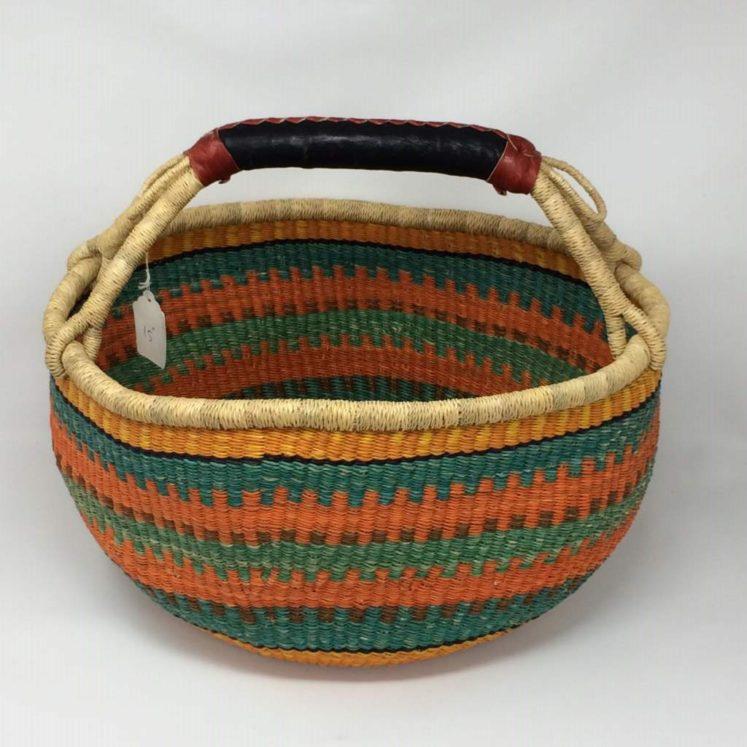"""Large Bolga Basket 15"""" (15-3)"""