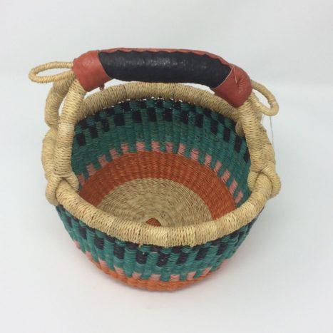 "Small Bolga Basket 8"" (8-1)"