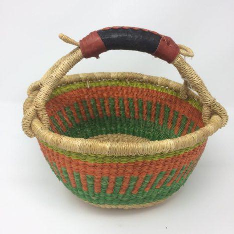"Small Bolga Basket 9"" (9-1)"