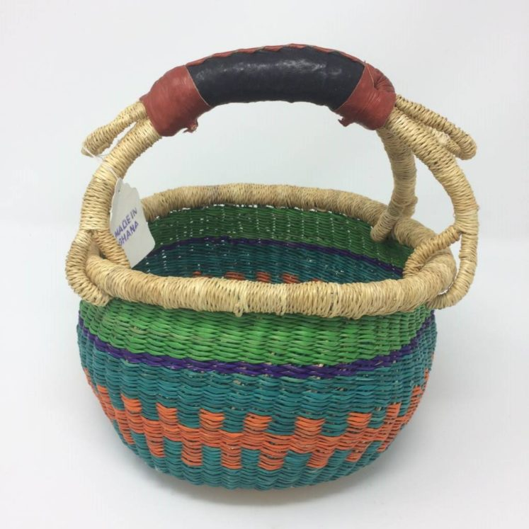 "Small Bolga Basket 9"" (9-2)"
