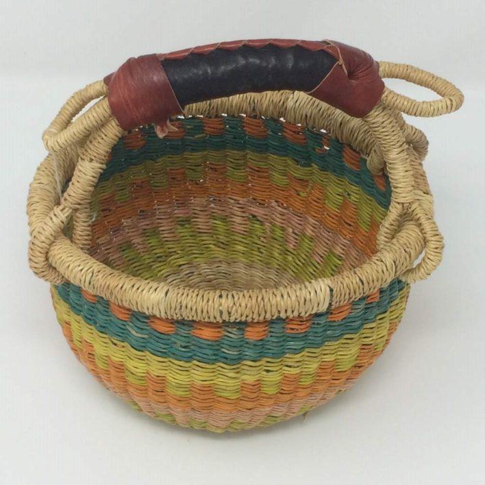 "Baby Bolga Basket 7"" (b-1)"