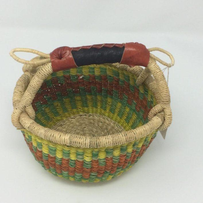 "Baby Bolga Basket 7"" (b-2)"