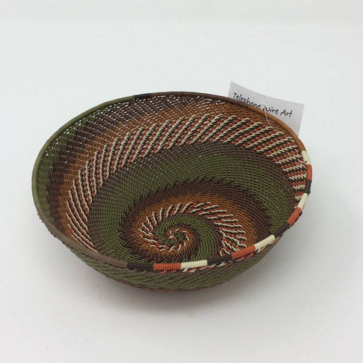 Telephone Wire Basket – African Landscape