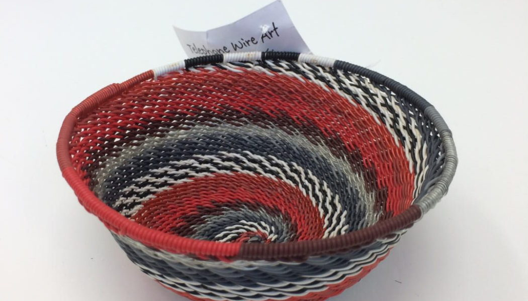 telephone wire baskets how to make