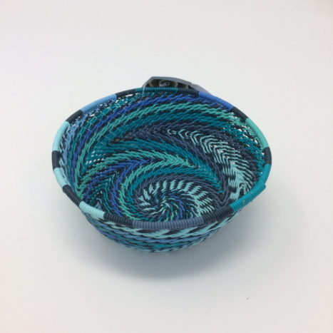 Telephone Wire Basket – Ocean Waves