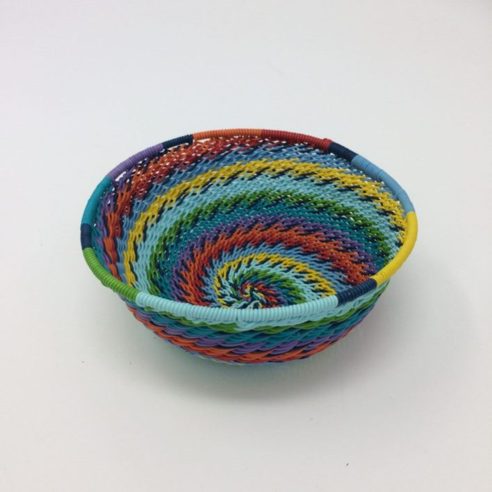Telephone Wire Basket – Rainbow Brights