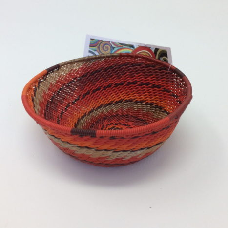 Telephone Wire Basket – Rich Red