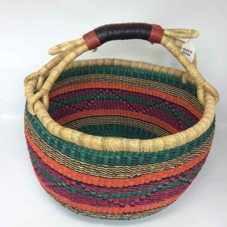 """Large Bolga Basket 15"""" (15-10)"""