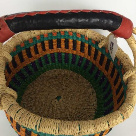 "Small Bolga Basket 9"" (9-4)"