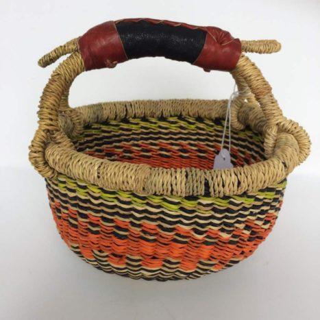 "Small Bolga Basket 7"" (Baby1)"