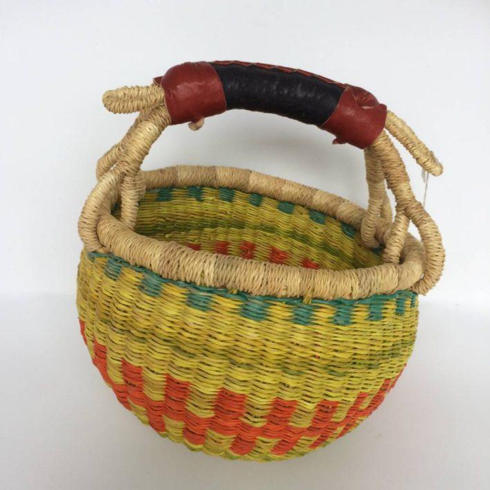"Small Bolga Basket 7"" (Baby2)"