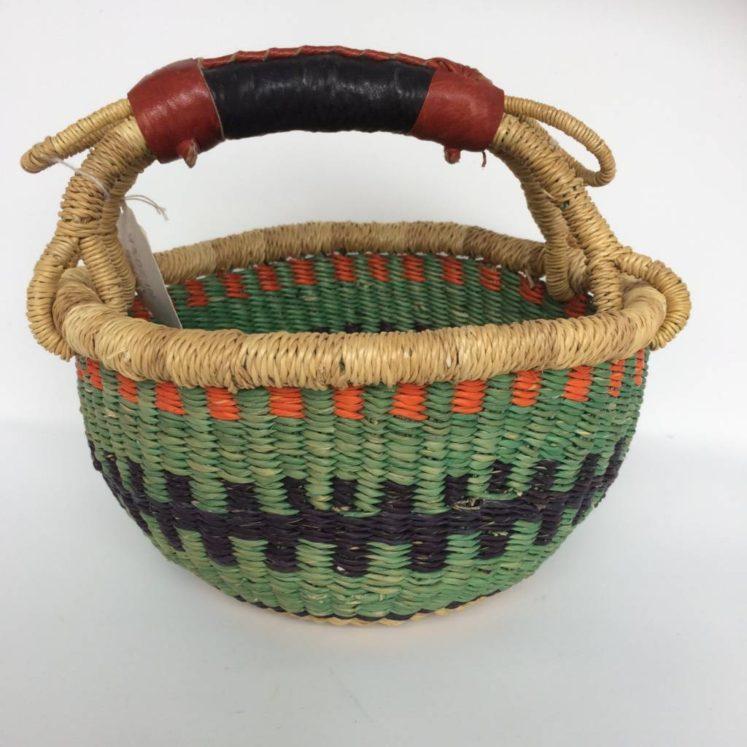 "Small Bolga Basket 8"" (Baby3)"