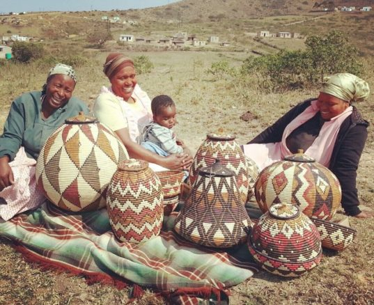 Origins of Zulu Ilala Palm Baskets