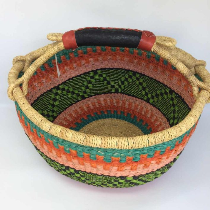 """Large Bolga Basket 15"""" (15-6)"""