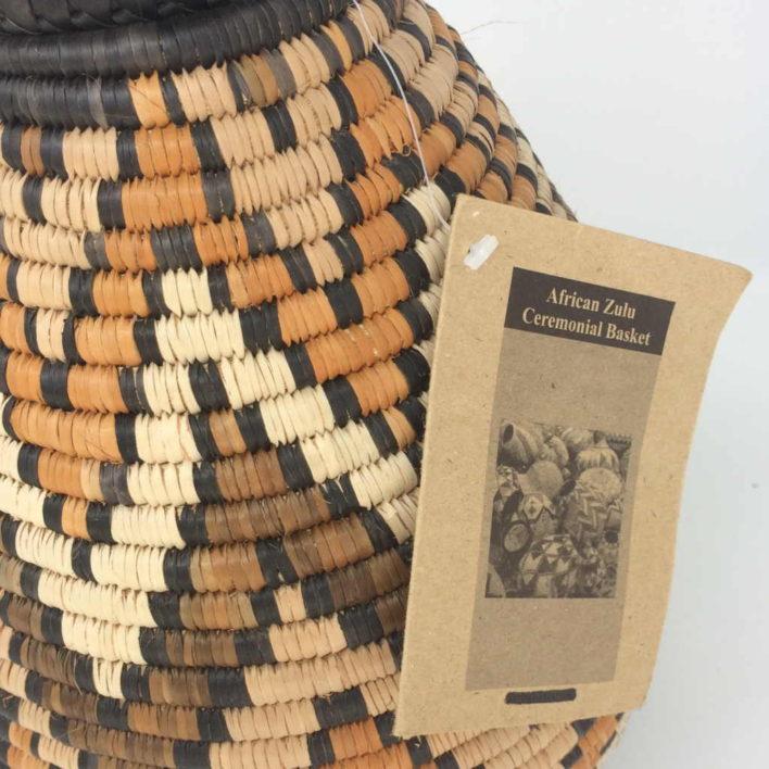 Zulu Beer Basket – HM