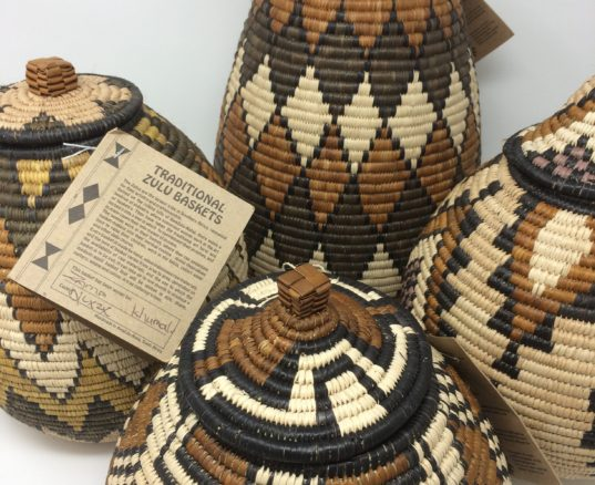 Understanding the patterns on a Zulu Basket