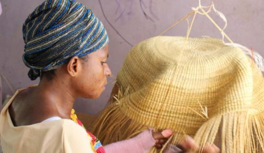 How Bolga Baskets are Made  4