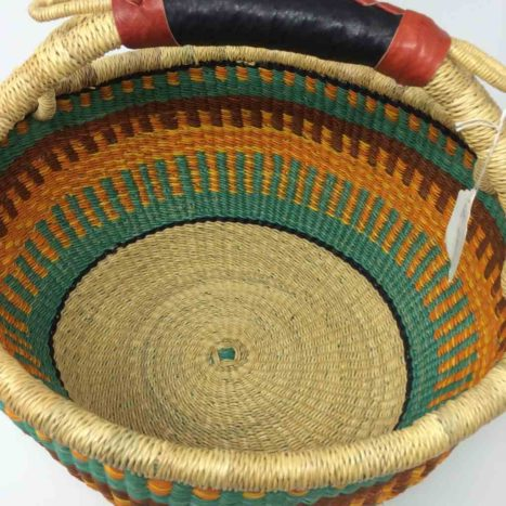 """Large Bolga Basket 14"""" (14-12)"""
