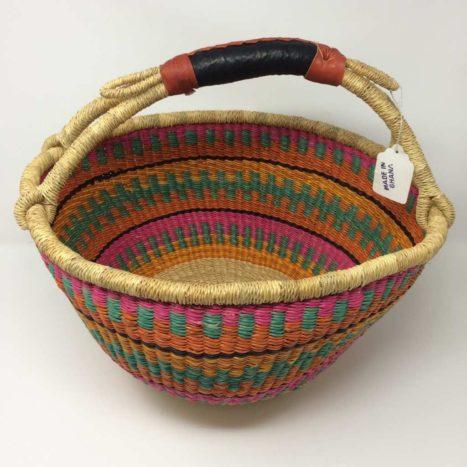 """Large Bolga Basket 15"""" (15-12)"""