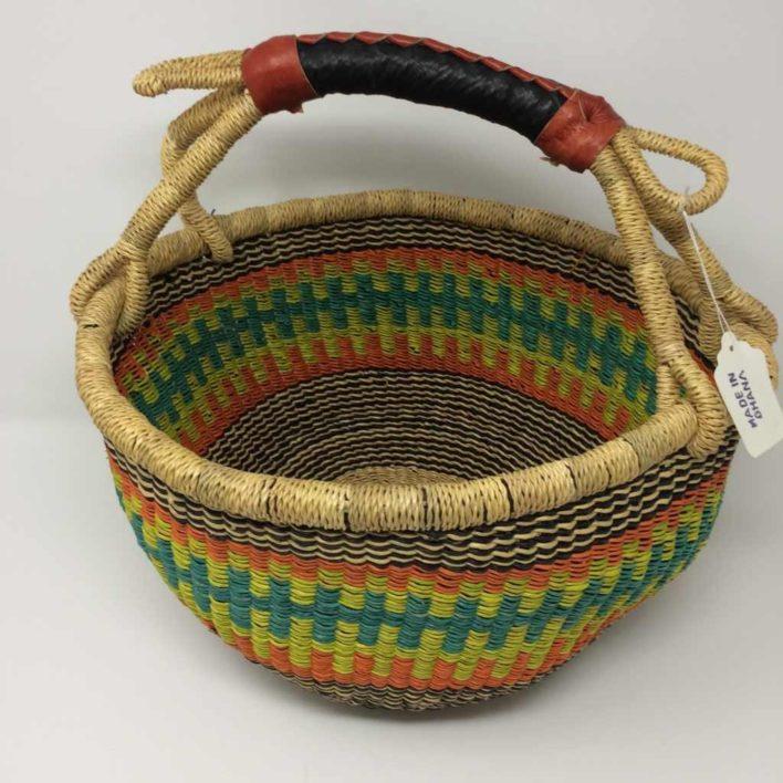 """Medium Bolga Basket 12"""" (12-10)"""