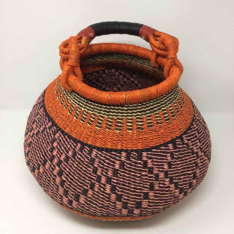 Medium Pot Bolga Basket (PBM3)