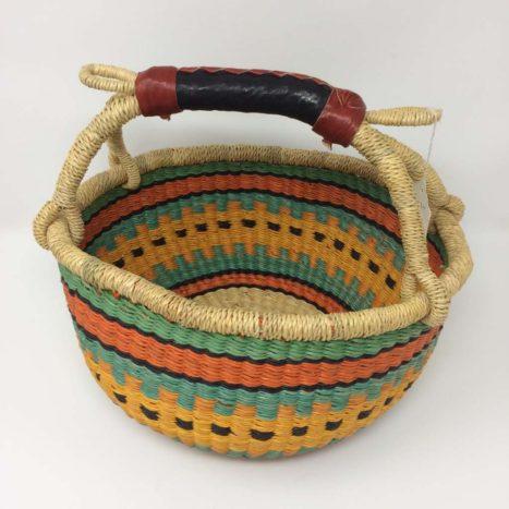 "Small Bolga Basket 10"" (10-5)"