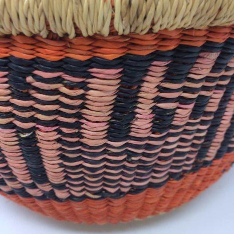 "Small Bolga Basket 10"" (10-3)"