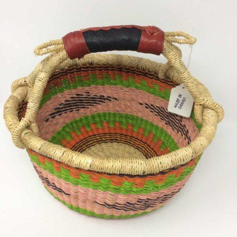 "Small Bolga Basket 10"" (10-4)"
