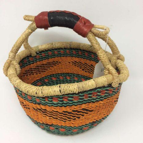"Small Bolga Basket 8"" (8-4)"