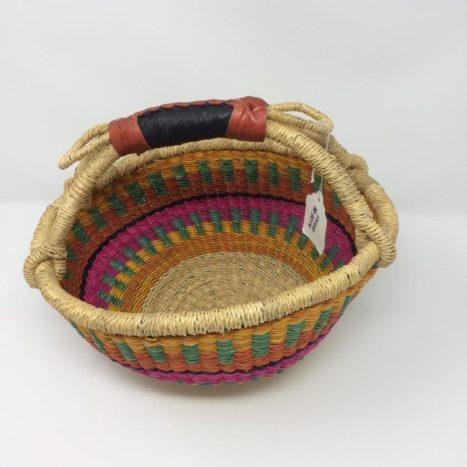 "Small Bolga Basket 10"" (10-7)"