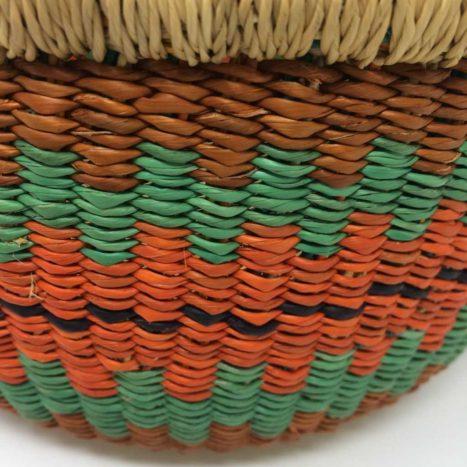 "Small Bolga Basket 10"" (10-6)"