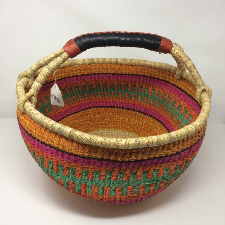 """Large Bolga Basket 15"""" (15-17)"""