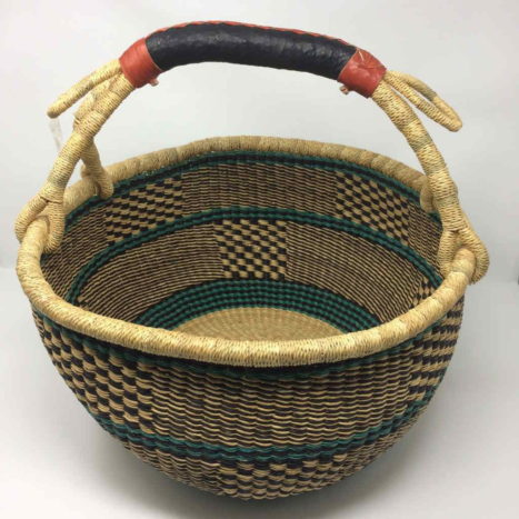 """Large Bolga Basket 15"""" (15-14)"""
