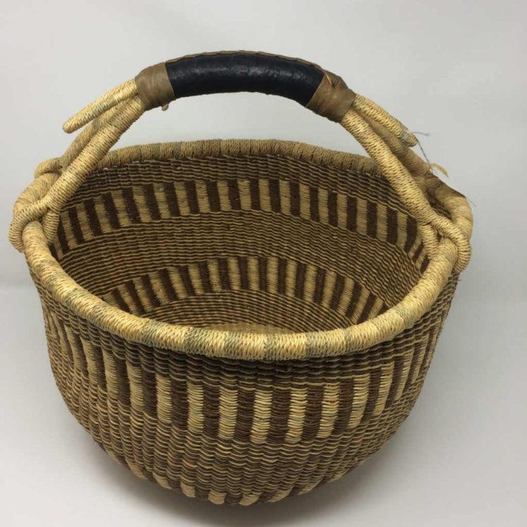 """Large Bolga Basket 14"""" (14-14)"""