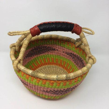"Small Bolga Basket 10"" (10-8)"