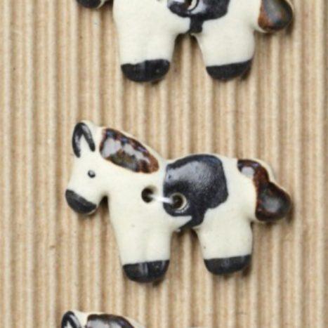 Ceramic Buttons – Horse Buttons L120