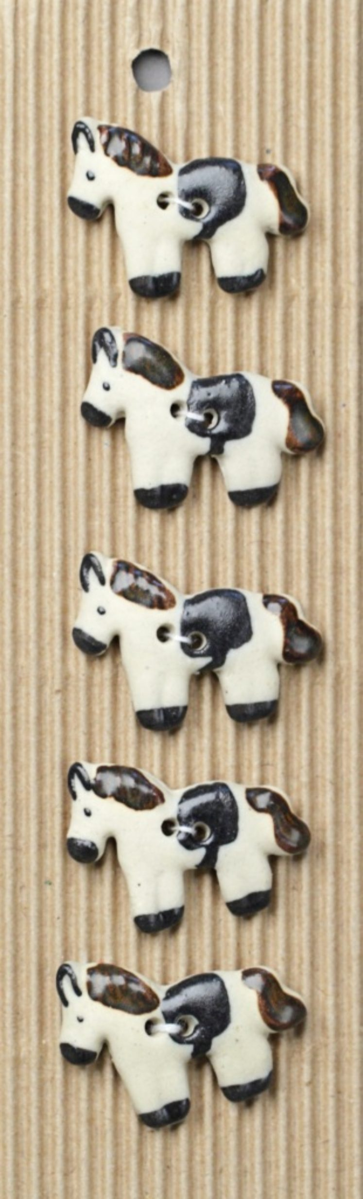 Ceramic Buttons – Horse Buttons L120