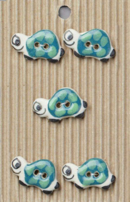Ceramic Buttons – Tortoise Buttons L123