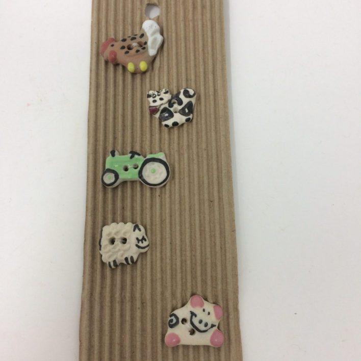 Ceramic Buttons – Tiny Farm