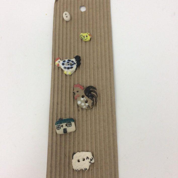 Ceramic Buttons – Tiny Farm (2)