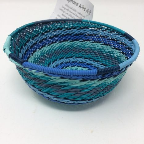 Telephone Wire Basket Ocean Waves 2