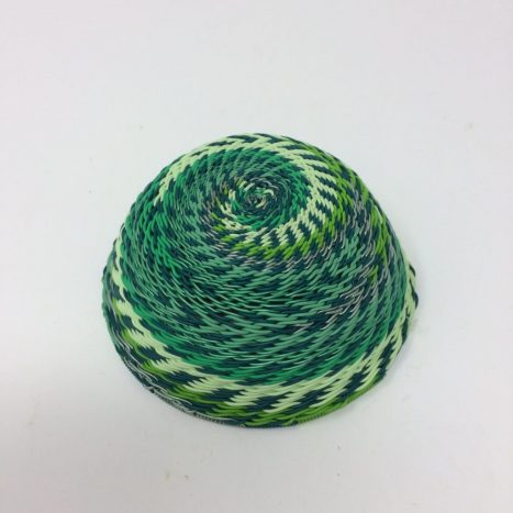 Telephone Wire Basket Spring Green 2