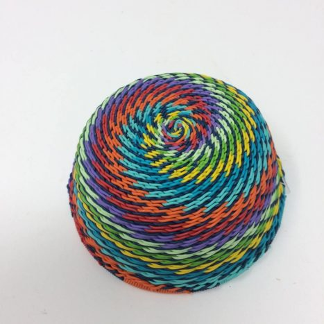 Telephone Wire Basket Rainbow 2